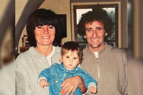 Alain Prosto's daughter Victoria Prosto