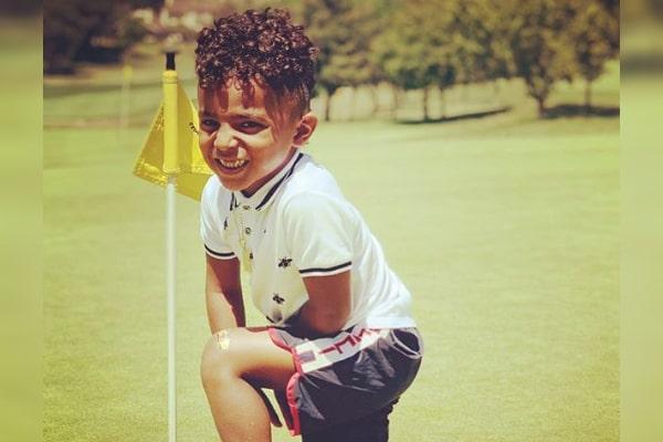 Antonio Brown's son Ali Brown