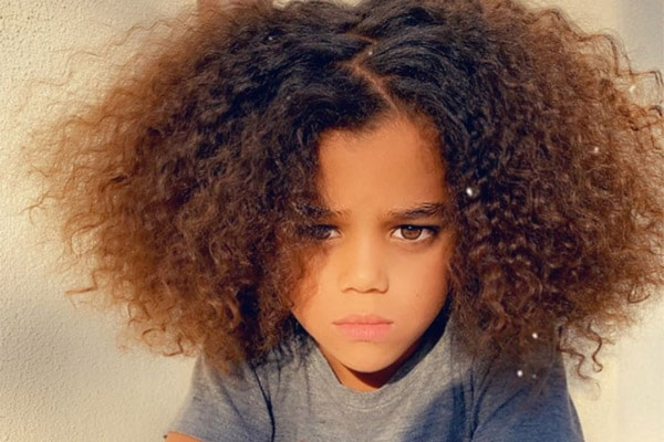Michael Ealy son Elijah Brown