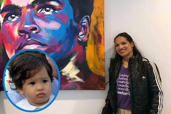 Jamillah Ali's son with husband Michael Joyce Jake Joyce