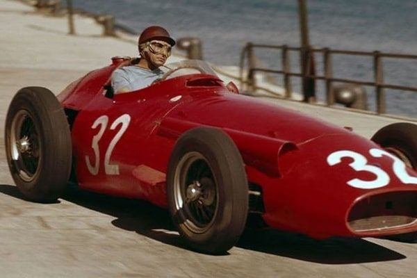 Juan Mauel Fangio's son Oscar Cacho Espinosa