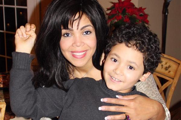 Khaliah Ali's son with Spencer Wertheimer Jacob Wertheimer