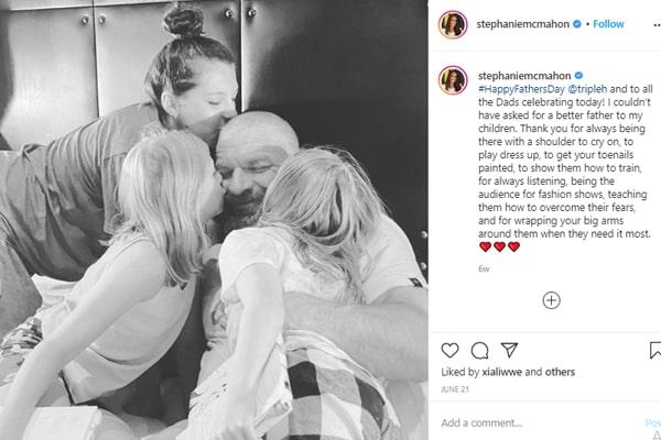 Stephanie McMahone's daughter Aurora Rose Levesque