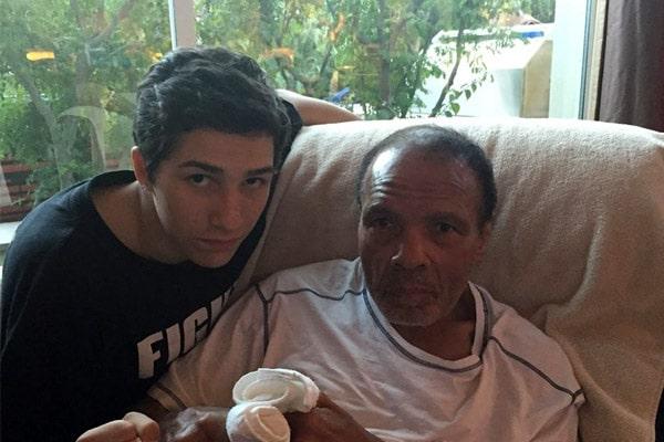 Rasheda Ali's son Nico Ali Walsh facts