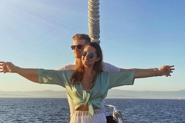 Nico Hulkenberg girlfriend Egle Ruskyte