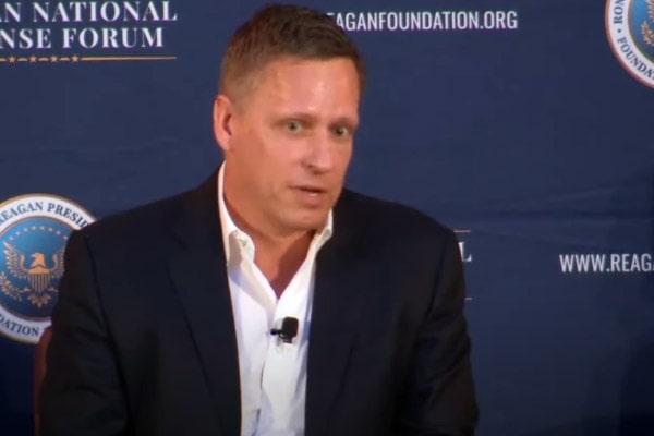 Peter Thiel husband Matt Danzeisen