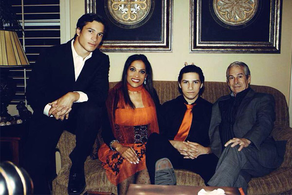 Rasheda Ali's son with Bob Walsh Nico Ali Walsh