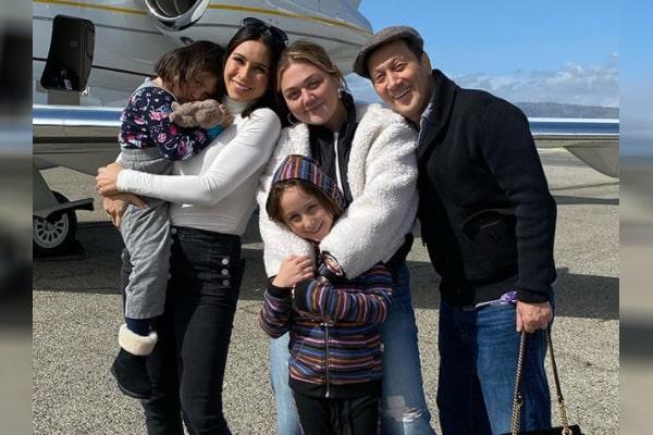 Rob Schneider's daughter Miranda Scarlett Schneider