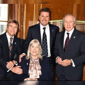 Meet Mark Stewart – Photos Of Jackie Stewart's Son With Helen Stewart