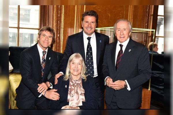Jackie Stewart's son Mark Stewart