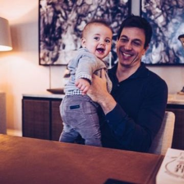 Meet All Of Toto Wolff's Children, Son Named Jack And 2 Kids From Past Relationship