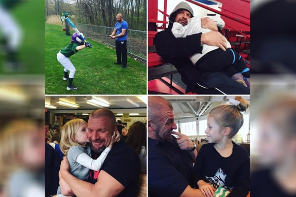 Stephanie McMahon's daughter Murphy Claire Levesque