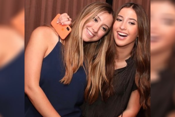 Kenny Albert's daughters Amanda Albert and Sydney Albert