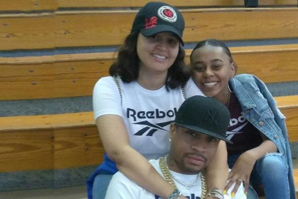 Allen Iverson daughter with Tawanna Turner, Messiah Lauren Iverson