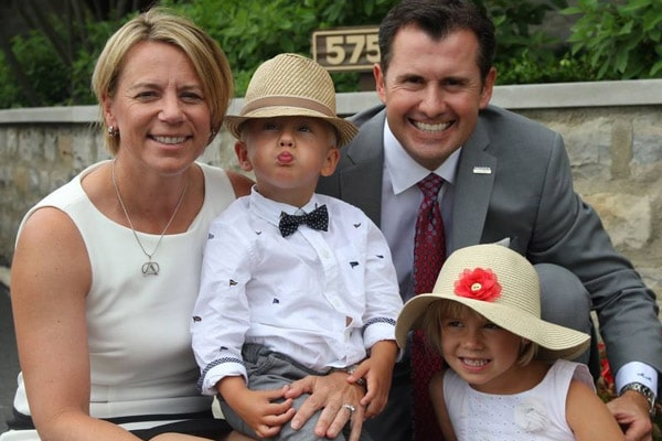 Annika Sorenstam Children, Ava Madelyn McGee, William Nicholas McGee