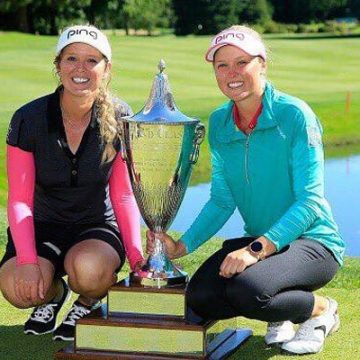 Lovely Relationship Between Brooke Henderson & Her Sister Brittany Henderson