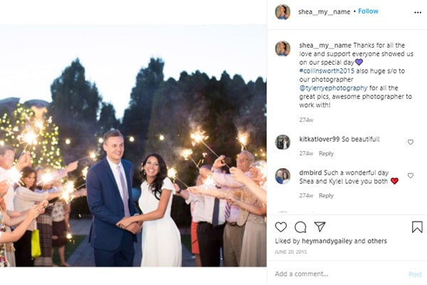 Kyle Collinsworth's wife Shea Martinez-Collinsworth