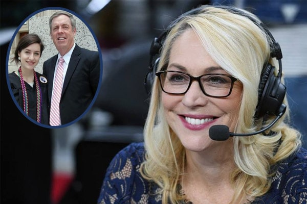 Doris Burke daughter with Gregg Burke, Sarah Burke