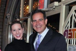 Jim Nantz wife Courtney Richards