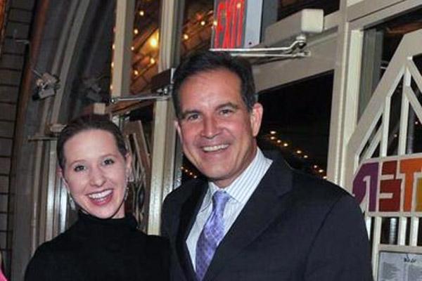 Jim Nantz wife Courtney Richards