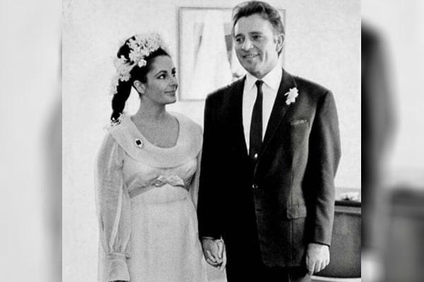 Richard Burton's ex-wife Elizabeth Taylor