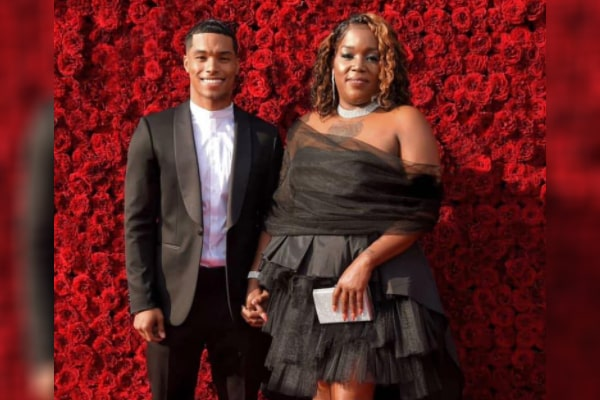 Rome Flynn's mother Nickey Alexander