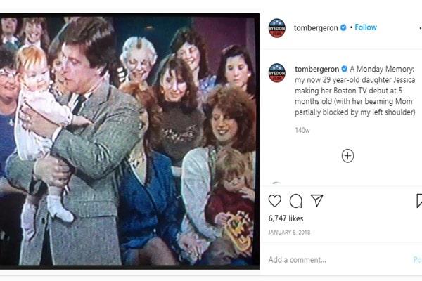 Tom Bergeron daughter with wife Lois Bergeron Samantha Bergeron