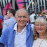 Alastair Stewart wife Sally Ann Jung