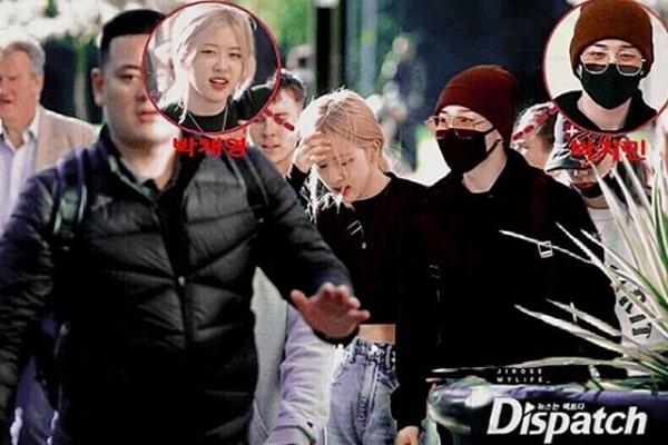 Blackpink Rosé boyfriend, Park Chaeyoung boyfriend