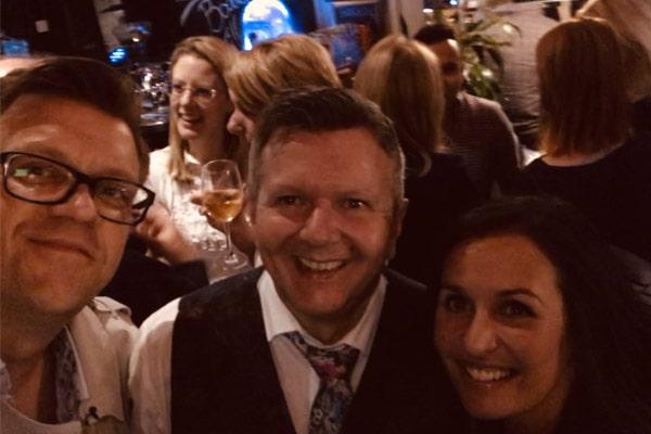 Nina Hossain's husband, Nina Hossain's partner, Stuart Thomas