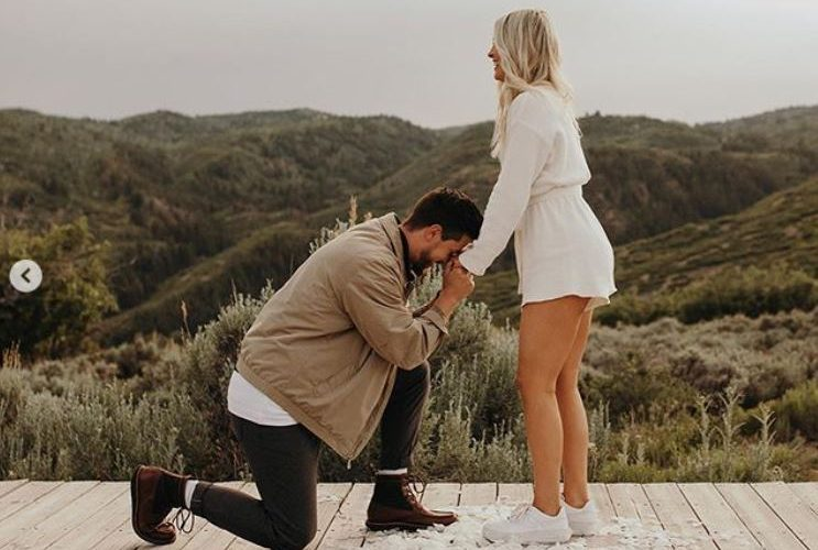 Whitney Simmons's Engagement