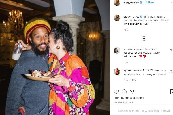 Ziggy Marley's wife Orly Marley