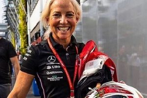 Lewis Hamilton's right hand woman Angela Cullen