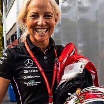 5 Interesting Facts About Physiotherapist Angela Cullen, Lewis Hamilton's Right Hand Woman