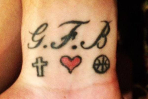 Tattoos of NBA Player Austin Rivers