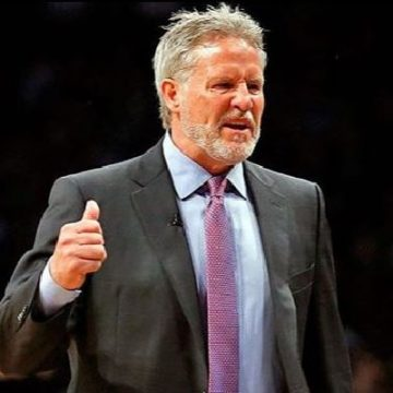 Brett Brown, Proud Father Of 3 Children, 2 Daughter And A Son