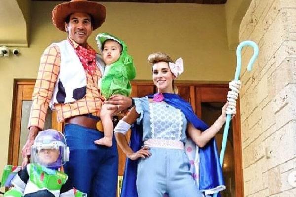 Erik Spoelstra's Halloween with sons