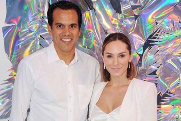 Erik Spoelstra's Wife Nikki Sapp Is A Former Heat Dancer