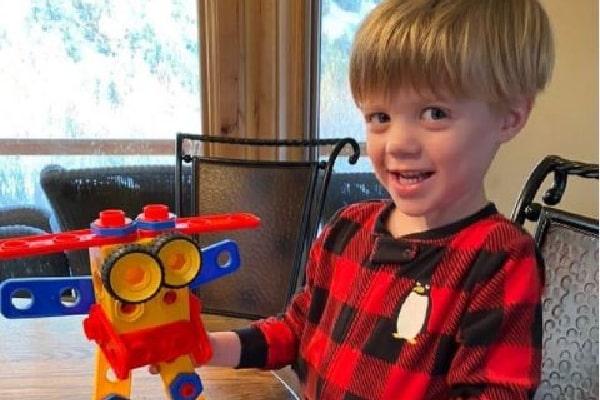 Kelly Clarkson's son Remington Alexander Blackstock