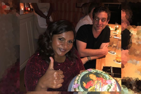 B. J. Novak's ex-Girlfriend, Mindy Kaling