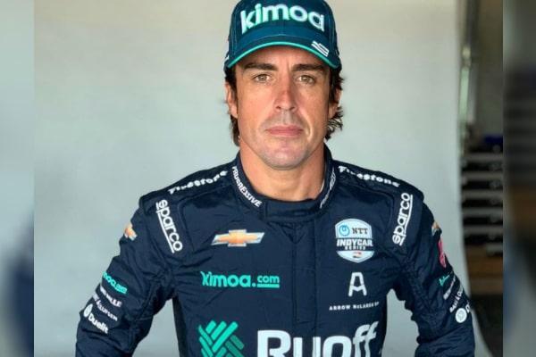 Fernando Alonso's girlfriend Linda Morselli