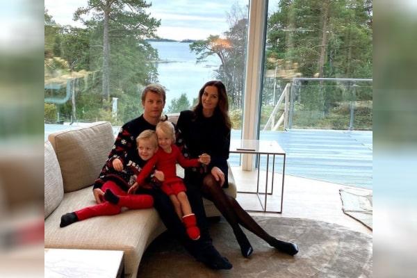 Kimi Räikkönen's wife Minttu Virtanen