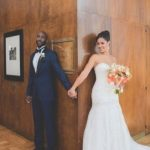 Lloyd Pierce and Melissa Ghoston sunshine themed wedding