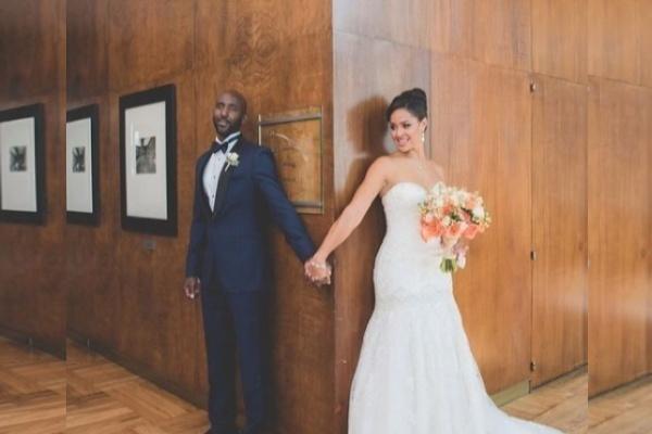 Lloyd Pierce and Melissa Ghoston sunshine themed wedding