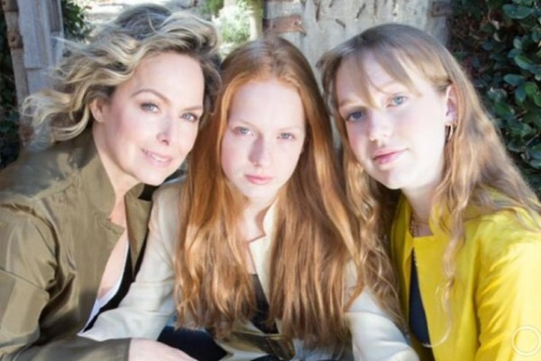 Melora Hardin's daughters Rory Melora Jackson and Piper Quincey Jackson