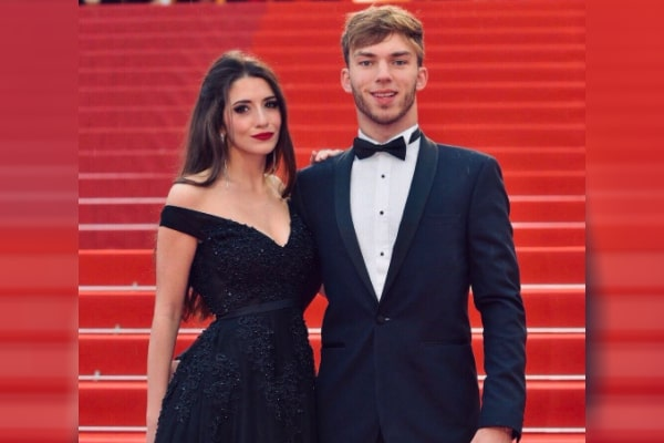 Pierre Gasly's girlfriend Caterina Masetti Zannini