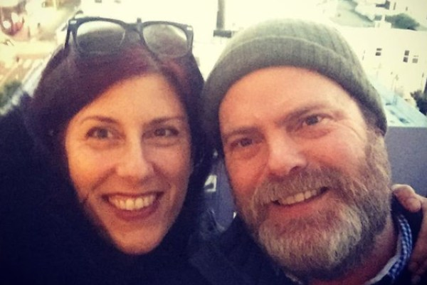 Rainn Wilson's wife Holiday Reinhorn