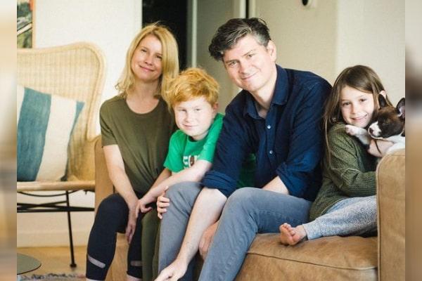Michael Schur's son and daughter Ivy Elizabeth Schur and William Schur