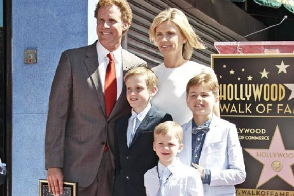 Will Ferrell's son Axel Ferrell