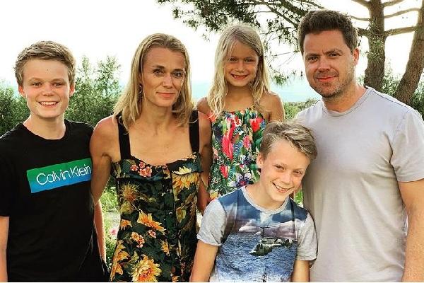 Information about Greg Poehler's wife Charlotta Meder
